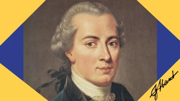 Ilustración hecha a partir de una imagen de Immanuel Kant distribuida por Liz Mc a través Flickr, bajo licencia Creative Commons CC BY 2.0., y firma del filósofo de dominio público distribuida por Wikimedia Commons.