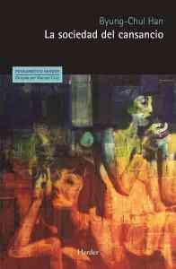 """""""La sociedad del cansancio, de Byung-Chul Han"""", editado por Herder."""