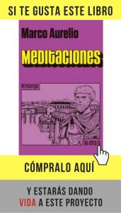Meditaciones, de Marco Aurelio, en versión manga, editado por La otra h.