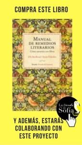 Manual de remedios literarios, de Susan Elderkin y Elle Berthoud (Siruela).