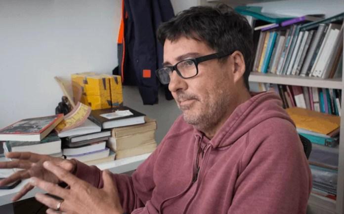 Mauricio Nieto, profesor del departamento de Historia de la facultad de Ciencias Sociales de la Universidad de Los Andes (Colombia). Foto: Marcela Barrera.