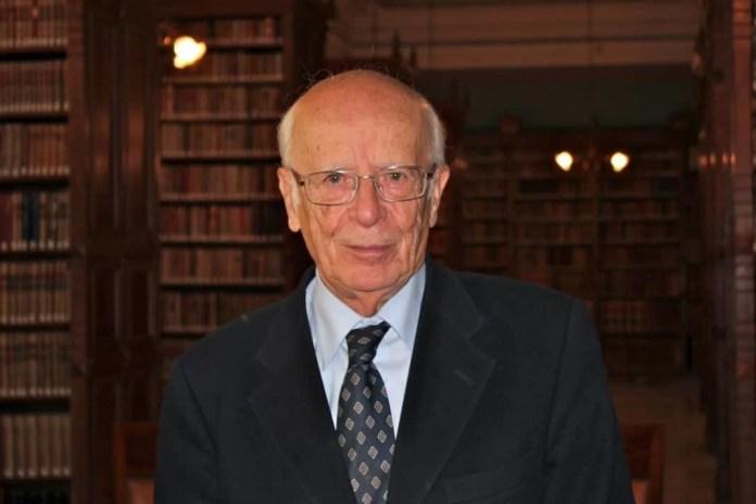 Emilio Lledó es profesor de Historia de la Filosofía. Foto: Deyanira López.
