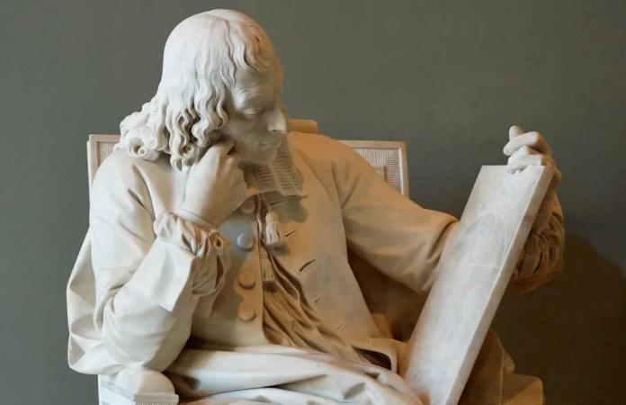 Blaise Pascal, por Augustin Pajou / Museo del Louvre, París / Fuente: Jartrow / Dominio público.
