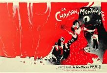 Jules Grün (1868-1938), La canción de Montmartre, 1900. Prueba litográfica para cubierta,35,5 × 56,5 cm. Colección particular © Colección particular
