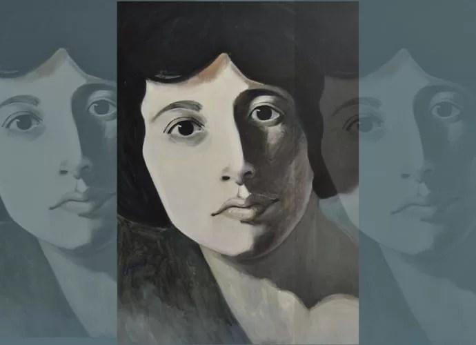Philippe Jamin firma el retrato de Simone Weil que se encuentra en la portada del libro