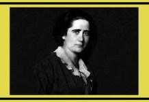 Clara Campoamor (Madrid, España 1888-Lausana, Suiza 1972).