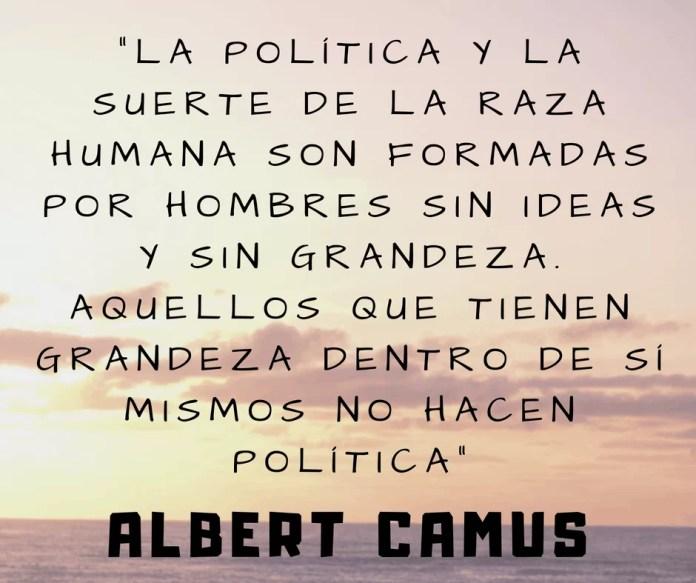 Frase filosófica Albert Camus