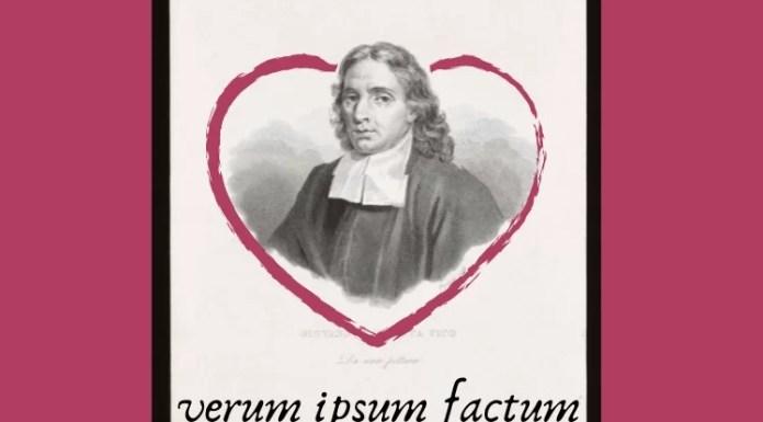 Frente a la razón, Vico situó el poder y la verdad de los hechos: Verum ipsum factum se convirtió en su lema. En la colección de la Biblioteca municipal de Trento. Archivo bajo licencia CC.