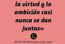 Frase filosófica Montaigne