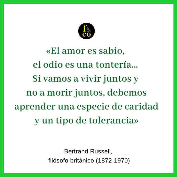 Frase filosófica Bertrand Russell