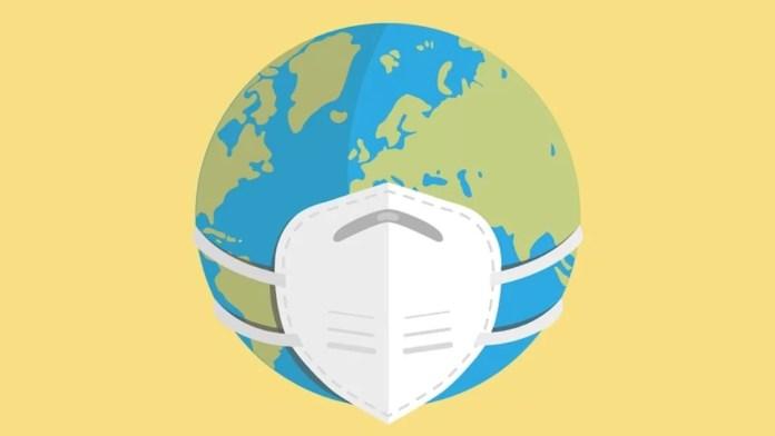 En 2020, ningún objeto simboliza mejor la pandemia que la mascarilla. Imagen de cromaconceptovisual en Pixabay .