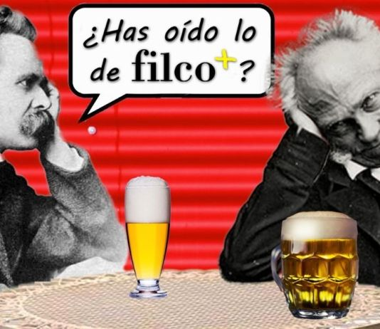 Brindamos con Nietzsche y Schopenhauer por el nacimiento de la nueva zona Filco+ de nuestro portal filosofía&co.