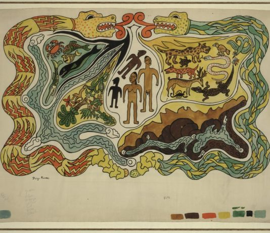 Creation (1931) Diego Rivera