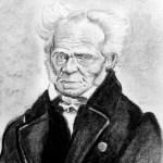 Diseño hecho a partir de un dibujo de Arthur Schopenhauer a lápiz de Álvaro Marqués Hijazo derivado de la imagen Arthur Schopenhauer by J Schäfer, 1859, distribuida por Wikimedia Commons bajo licencia creative commons Attribution-ShareAlike 4.0 International (CC BY-SA 4.0).
