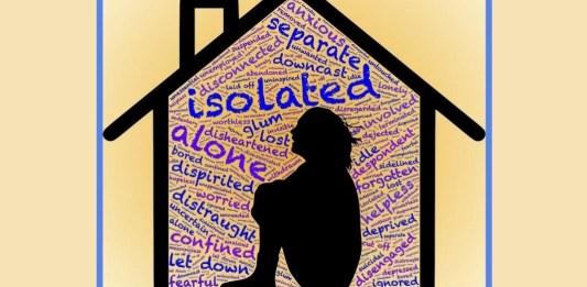 «Confinar, cercenar, arrancar de raíz, todas florituras de un mismo discurso. El vocablo 'confinamiento' está formado por el prefijo 'con' (todo o junto), el sustantivo 'finis' (límite, frontera, confín) y el sufijo 'miento', que designa el resultado de la acción. 'Confinamiento' es la acción de poner un límite, una frontera entre un espacio y otro que, con anterioridad, formaban un todo sin disgregar», escribe Olga Amarís. Diseño hecho a partir de una imagen de John Hain en Pixabay.