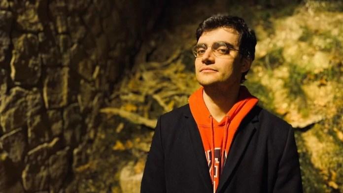 Ernesto Castro, filósofo y autor de «Memorias y libelos del 15M» (Arpa editores). © Luna Miguel.