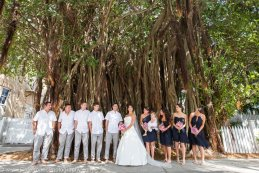 bridal part at banyan tree