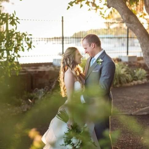wedding at key west garden club west martello