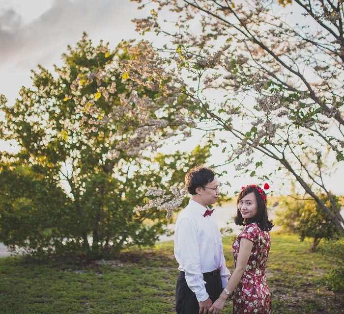 engagement photography in key west state park