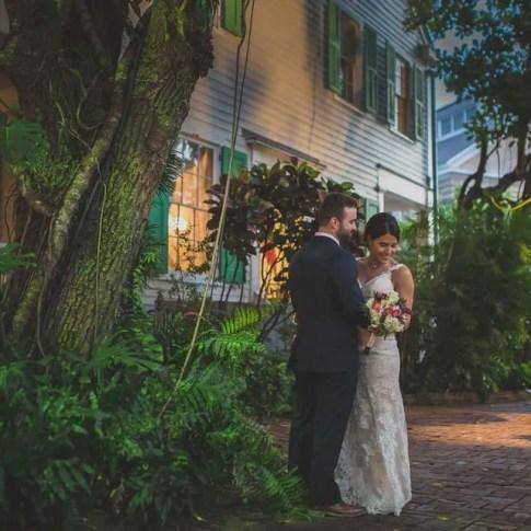 wedding at audubon house in key west florida