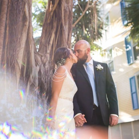 wedding at sheraton suites key west florida
