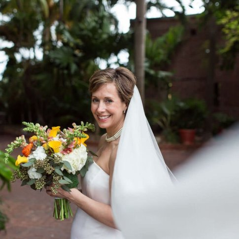 married at west martello tower key west garden club