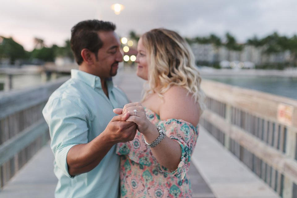 engaged in key west