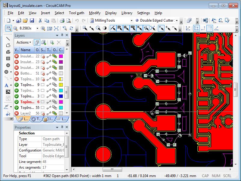 File extension CAT  CircuitCAM design template file