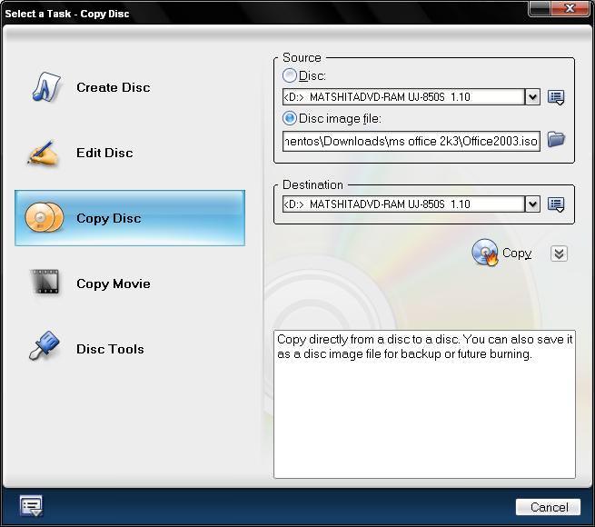 Open udb file - BurnSt document