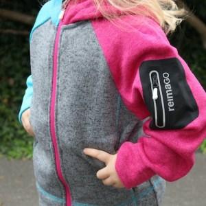 Reima Go Jacke Outdoor Bewegung Sensor
