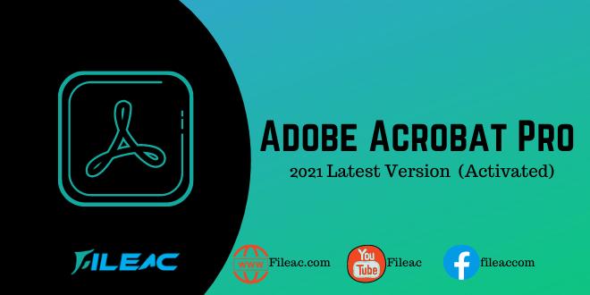 Adobe Acrobat activated 2021