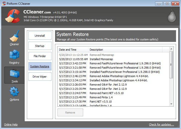 CCleaner Free Latest Version