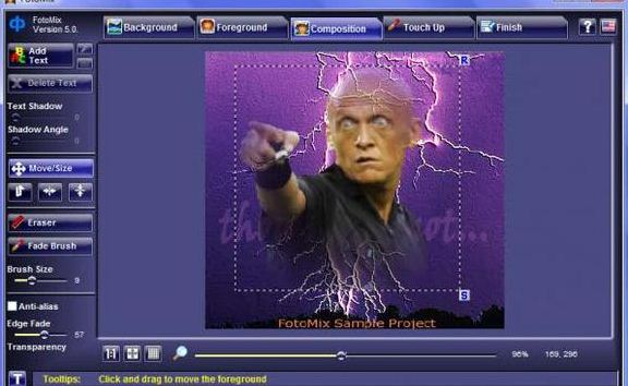 digital photo software fotomix
