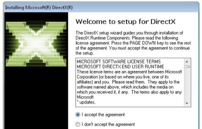 DirectX 11 Installation