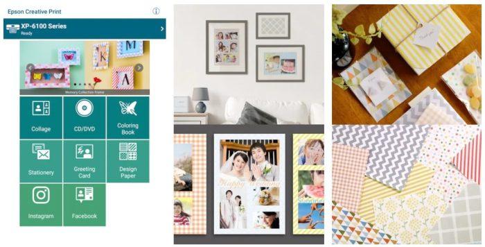Epson Creative Print app