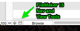 FileMaker 15 Nav and Display tools