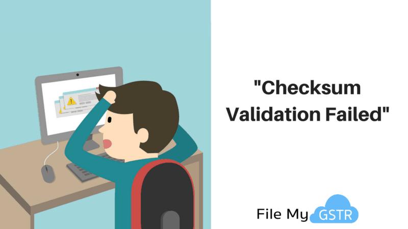 Checksum Validation Failed