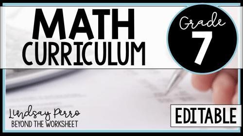 small resolution of 7th Grade Math Curriculum   Lindsay Perro Inc.