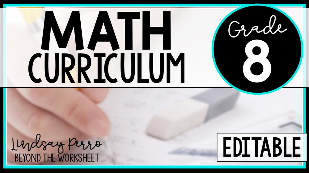 medium resolution of 8th Grade Math Curriculum   Lindsay Perro Inc.