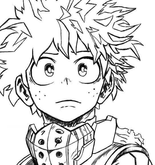 pics How To Draw My Hero Academia Characters Deku how to draw deku my hero academia