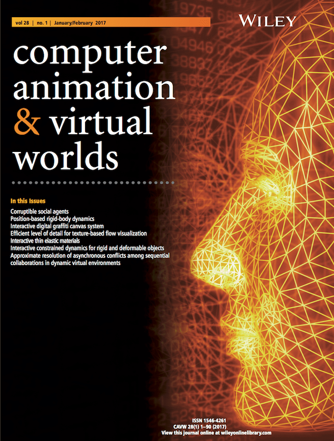 Template for submissions to Computer Animation and Virtual Worlds  Overleaf Online LaTeX Editor