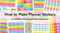 How to make planner stickers | Build a Bigger Online Business