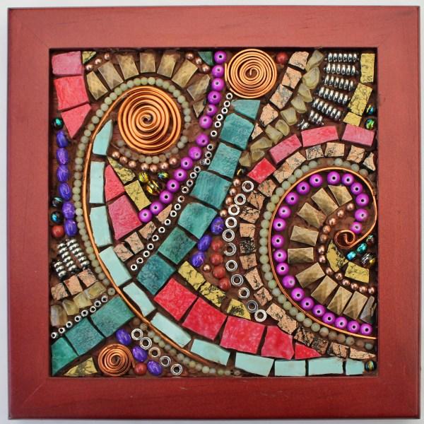 Organic Abstract Mosaic With David Jarvinen Arts