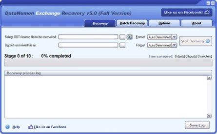 datanumen ost to pst tool