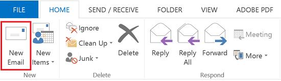 outlook 2016 send mail as alias