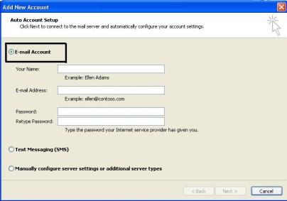 set up pst profile to remove 0x80040116 error