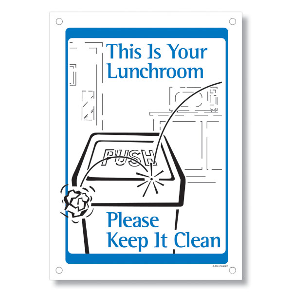 Kitchen Courtesy Signs: Clean Office Kitchen Etiquette