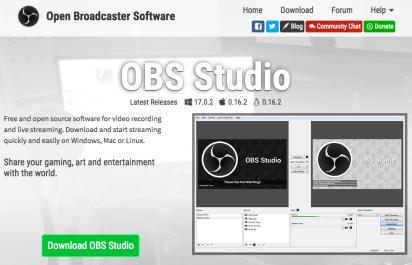 download open broadcaster software full crack