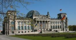 Steak in Berlin Reichstag