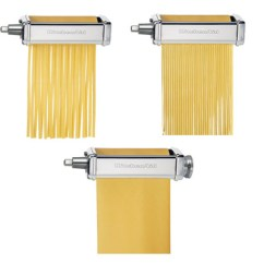Kitchen Aid Pasta Sink Light Fixtures Filgifts Com Deluxe Roller Set Kitchenaid Mixer Accessory Transform Any With This Contains Sheet Fettucine And Spaghetti Cutter Not Included